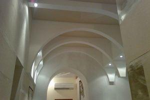 Межкомнатная арка вместо двери на кухне