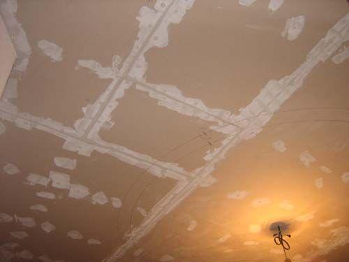 отделка потолка кухни потолок из гипсократона
