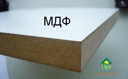 материалы для кухонной мебели МДФ