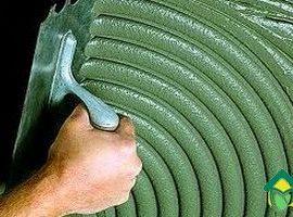 Виды и свойства плиточного клея: выбор плиточного клея для кухни
