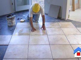 Укладка плитки на пол кухни своими руками: все этапы работ
