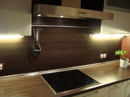 кухонный фартук из панелей