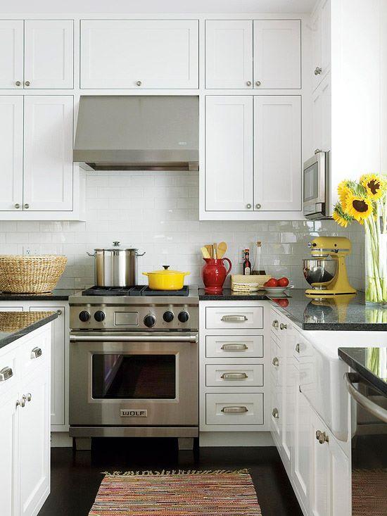расстановка мебели на кухне вариант 2
