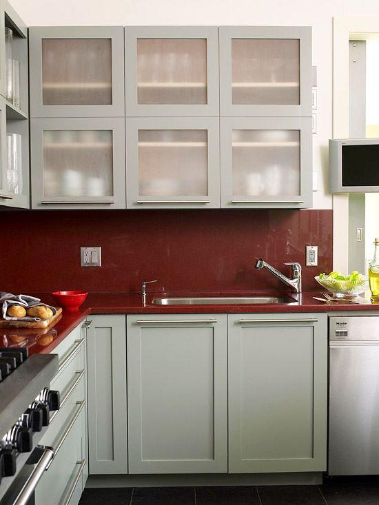 расстановка мебели на кухне вариант 1
