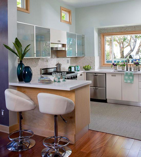 2 расстановка мебели на кухне вариант 3