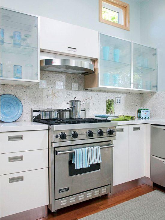 расстановка мебели на кухне вариант 3