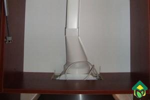 Монтаж вытяжки с воздуховодом на кухне своими руками