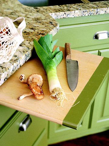 обустроить маленькую кухню