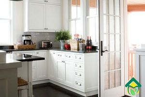 Расстановка мебели на кухне: варианты расстановки