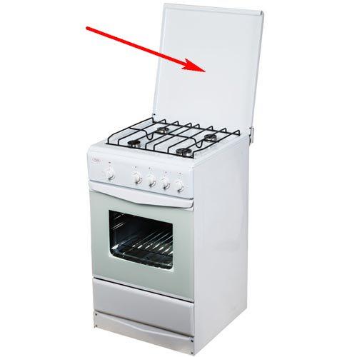 Плита кухонная с крышкой
