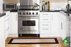 Белый цвет на кухне: фотографии белых кухонь