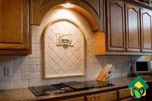 выбор материала для кухонного фартука