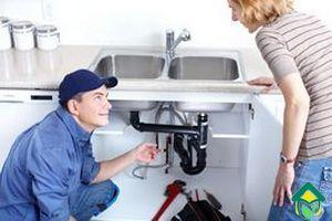 сантехнических работ на кухне