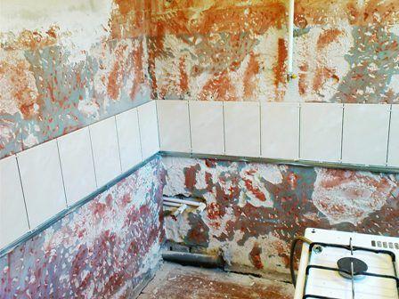 Грунтовка бетоноконтакт на кухне