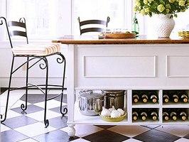 10 советов дизайнера по выбору отделки пола кухни
