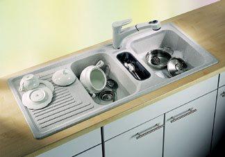 выбор кухонной мойки по количеству чаш