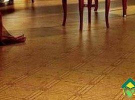 Укладка линолеума на пол кухни