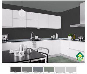 Черный цвет в интерьере кухни: фото кухонь с черным цветом