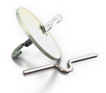 Крепление подвесного светильника- крюк