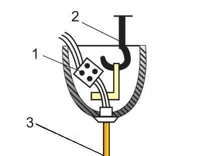 Крепление подвесного светильника схема подключения