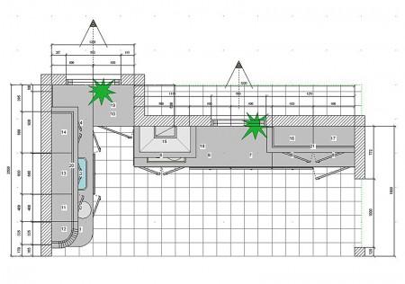 кухня 12 метров эскизы