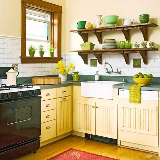 Кухни с элементами декора фото