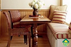 Идеи оформления кухни текстилем: текстиль кухни