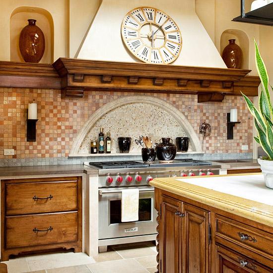 Какая плитка для кухни используется на фартуке