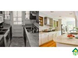 Фото кухонь до и после ремонта: примеры ремонта 4 кухонь