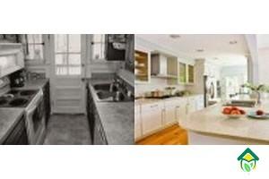 фото кухонь до и после ремонта