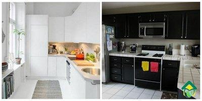 Белая и черная кухни: за и против