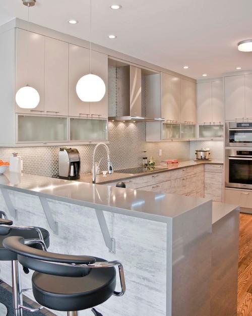 Увеличить пространство на маленькой кухне