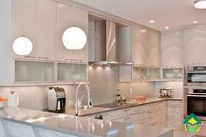 маленькое пространство кухни