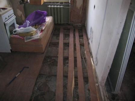 Как сделать полы в старой квартире