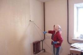 Грунтовка стен кухни: зачем нужно грунтовать стены перед