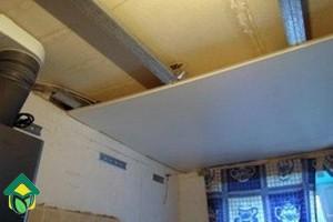 Потолок из гипсокартона на кухне: как сделать одноуровневый потолок на кухне своими руками