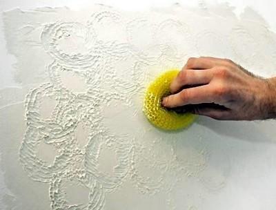 Декоративная шпаклевка для стен своими руками фото 671