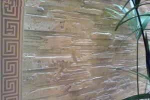 Декоративная штукатурка стен кухни