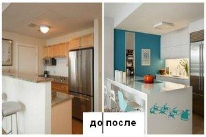 Кухня недели: 9 метров стильной кухни
