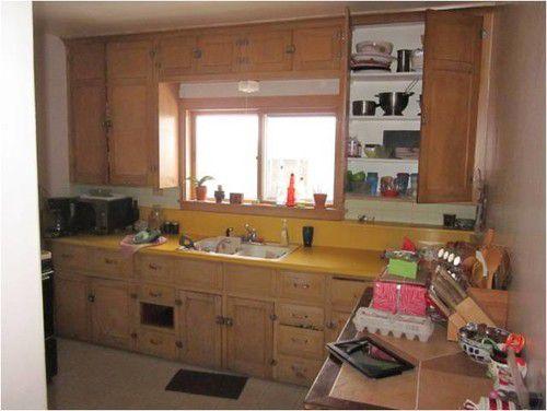 Кухня 19 метров до и после ремонта