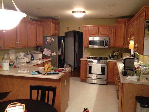 Ремонт кухни 22 метра