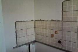 Укладка плитки на стену кухни своими руками