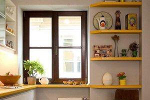 Каким должно быть кухонное окно