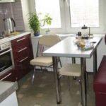Кухни в хрущевке: как перепланировать кухню в хрущевке
