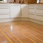Теплый пол кухни: типы теплых полов