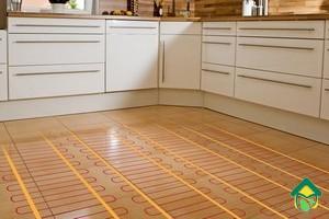 теплый пол кухни