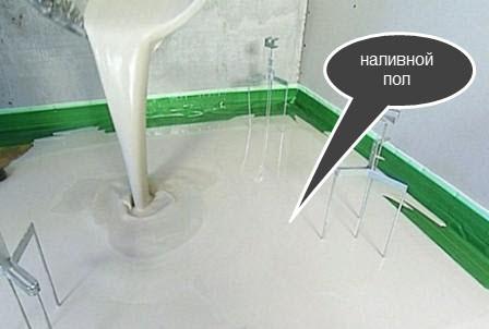 способ выровнять пол кухни наливной пол
