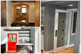 Выбор кухонной двери