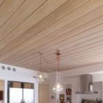 Выбор деревянного потолка для кухни