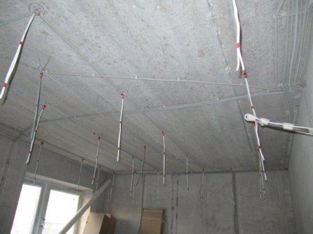 электрика-на-потолке